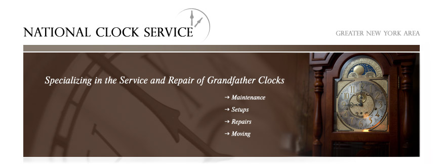 Grandfather Clock Service for NY, NJ and PA